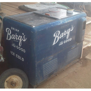 antique barqs cooler