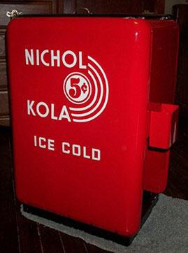 Quikold Antique Soda Coolers