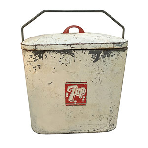 Superior Junior 7up Cooler