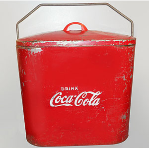 Superior Jr coca cola Cooler