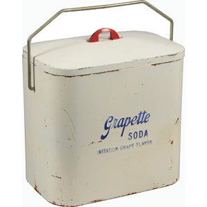Superior Jr. Grapette Cooler