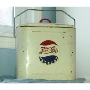 Superior Junior Pepsi Cola Cooler