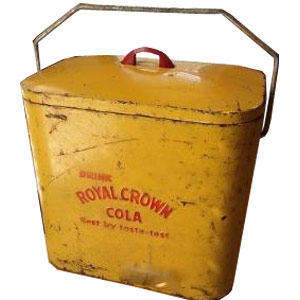 Royal Crown Cola Superior Jr Cooler